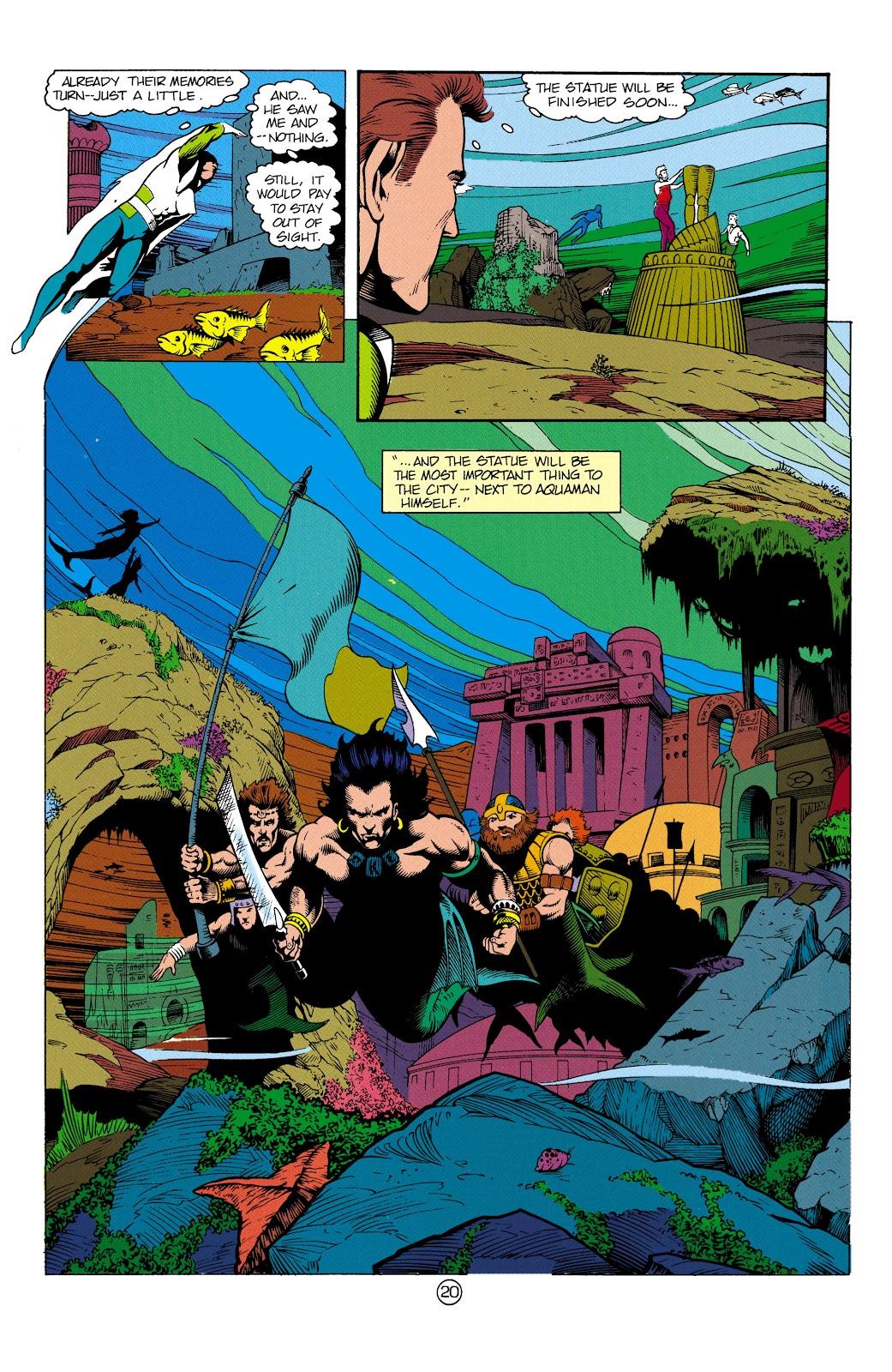 Aquaman (1991) Issue #3 #3 - English 21