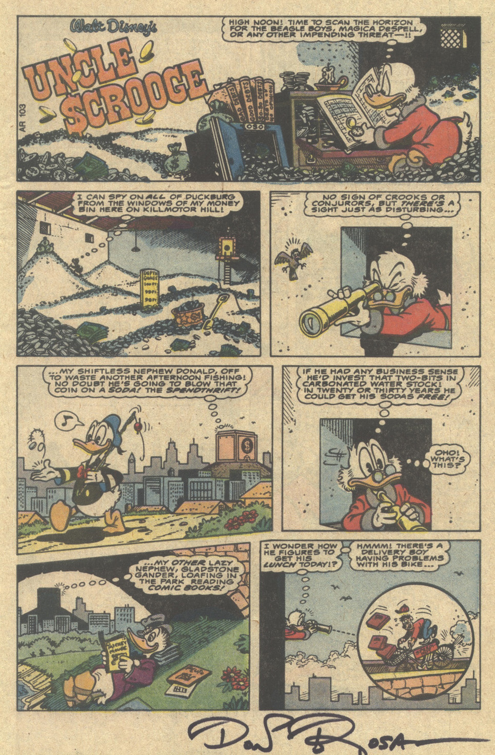 Uncle Scrooge (1953) Issue #220 #220 - English 3