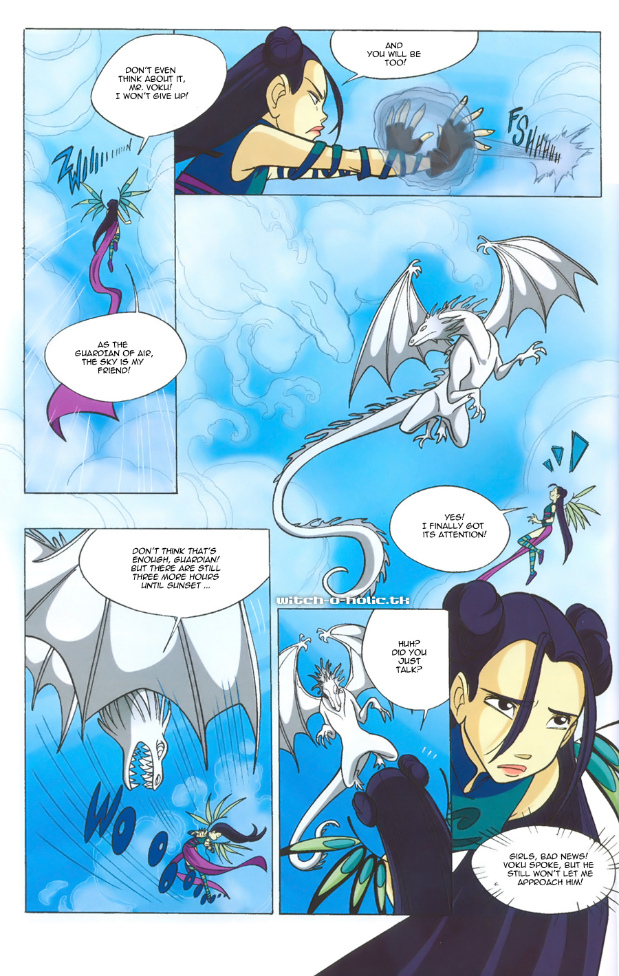 Read online W.i.t.c.h. comic -  Issue #135 - 12