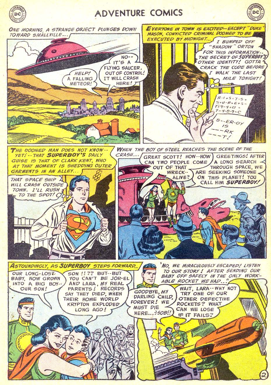 Read online Adventure Comics (1938) comic -  Issue #218 - 4