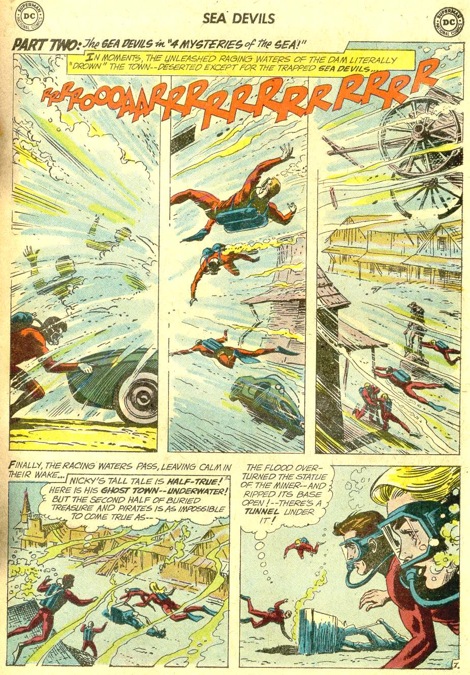 Read online Sea Devils comic -  Issue #10 - 12