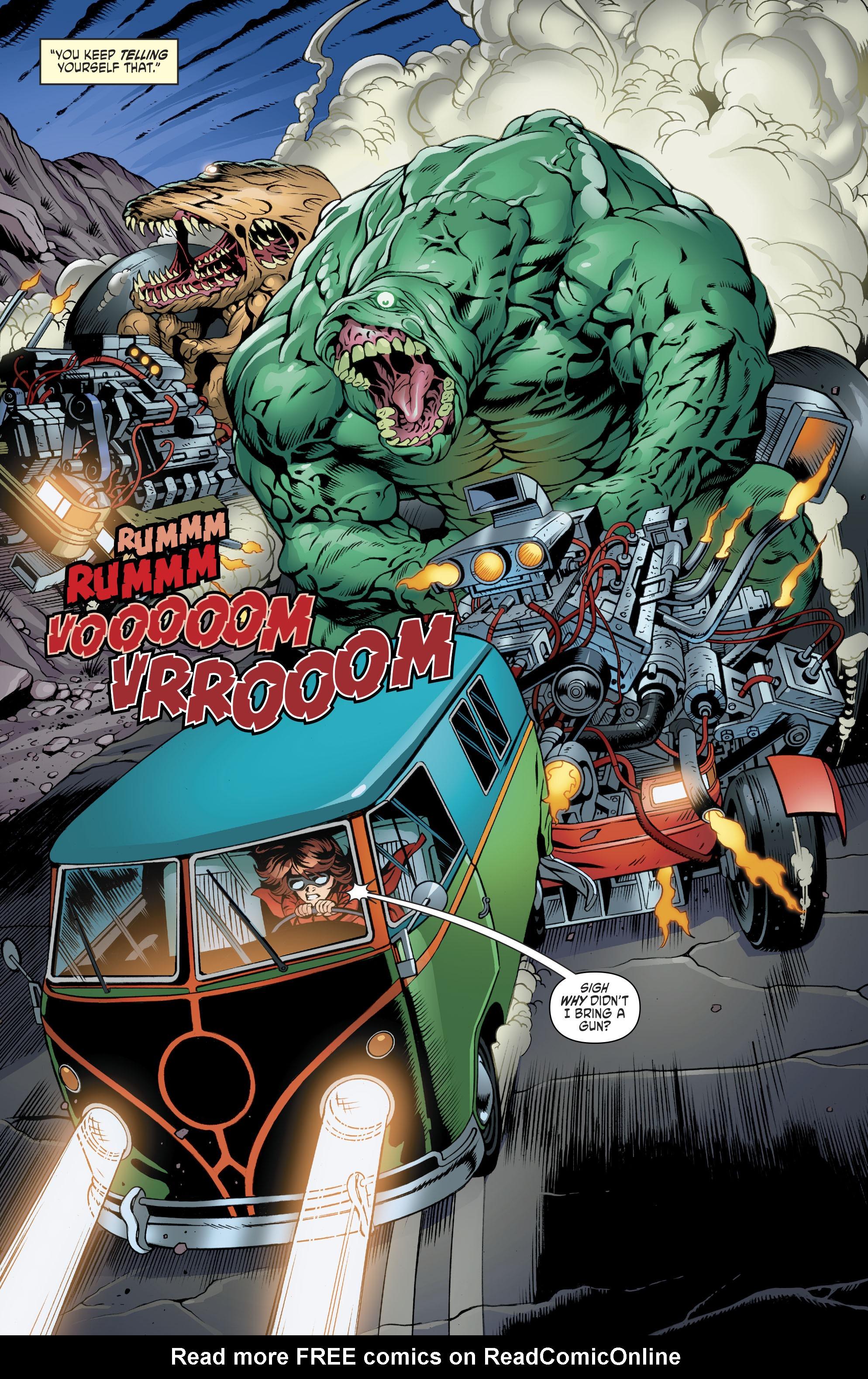 Read online Scooby Apocalypse comic -  Issue #11 - 13