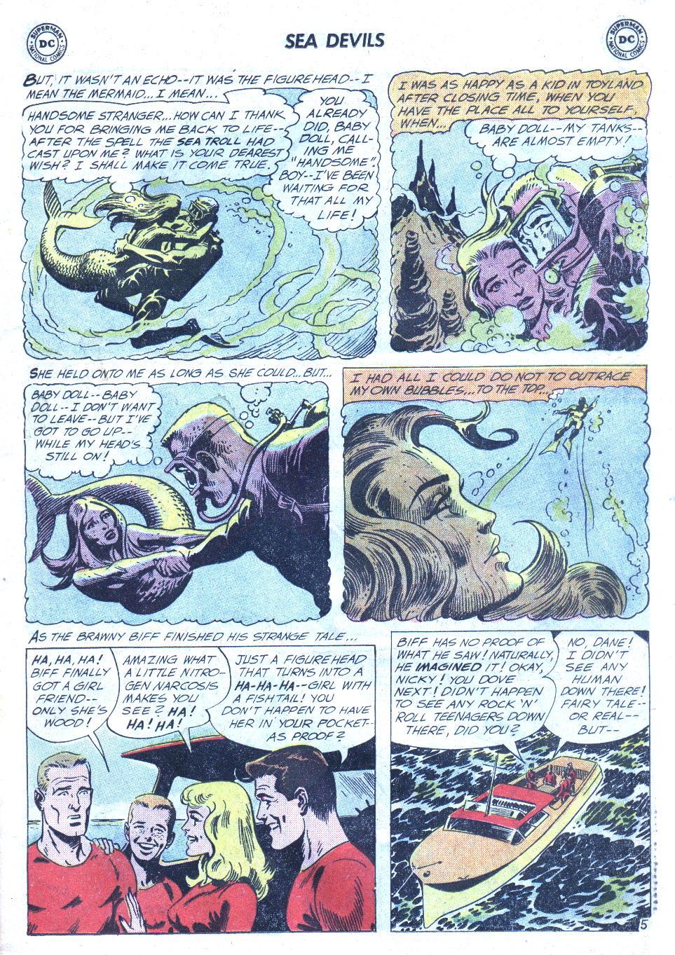 Read online Sea Devils comic -  Issue #4 - 8