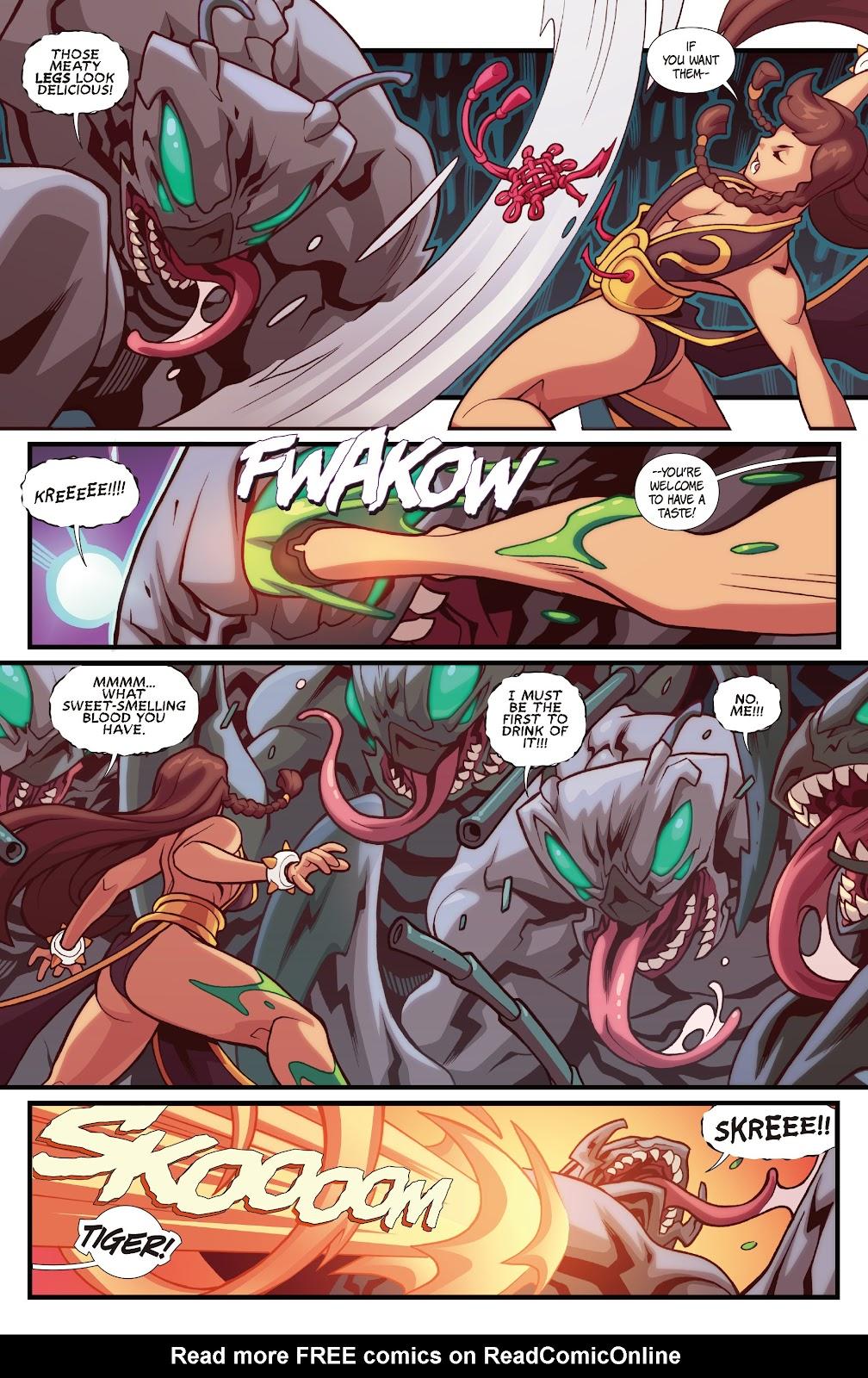 Street Fighter VS Darkstalkers Issue #1 #2 - English 7