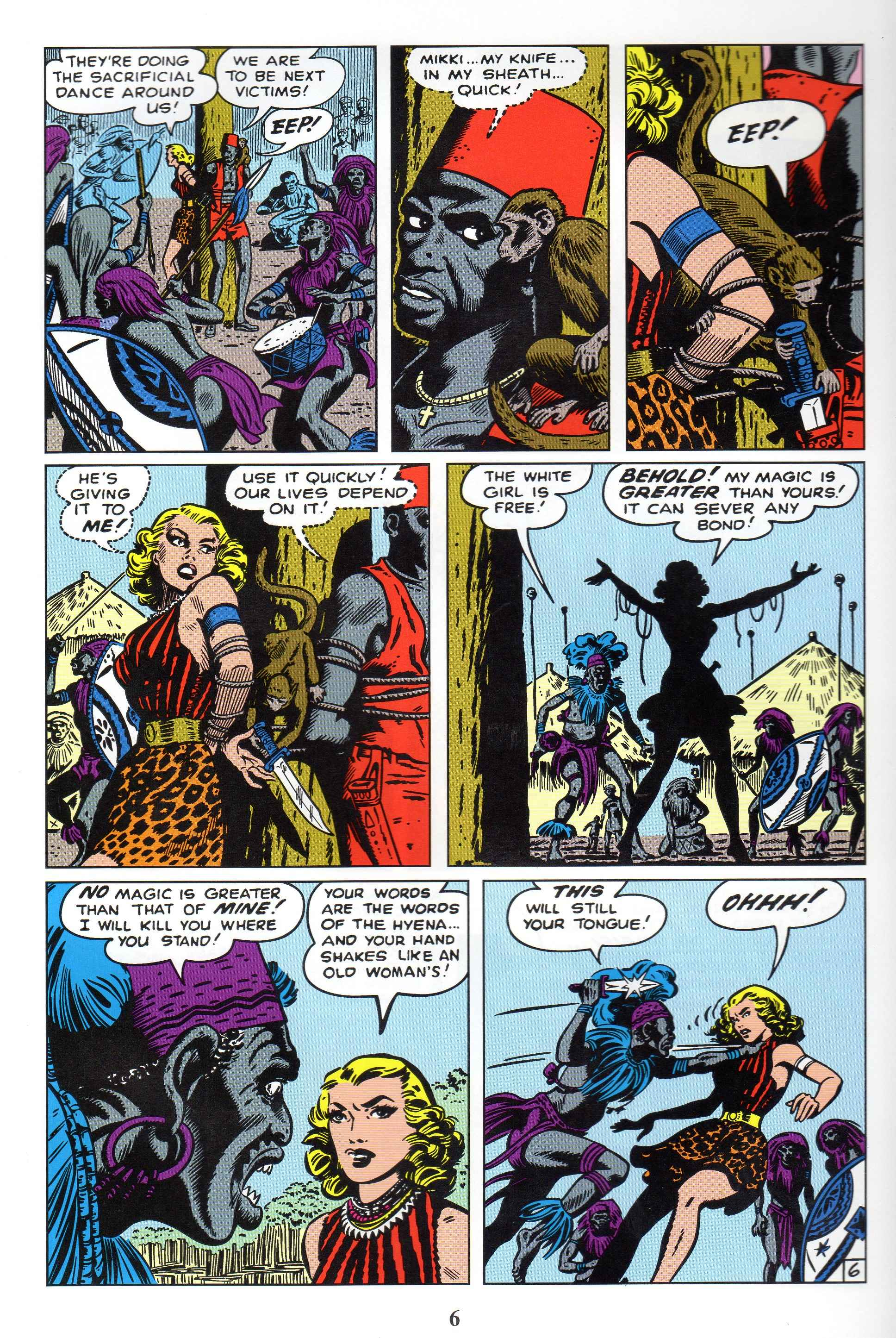 Read online Lorna, The Jungle Queen comic -  Issue #1 - 8
