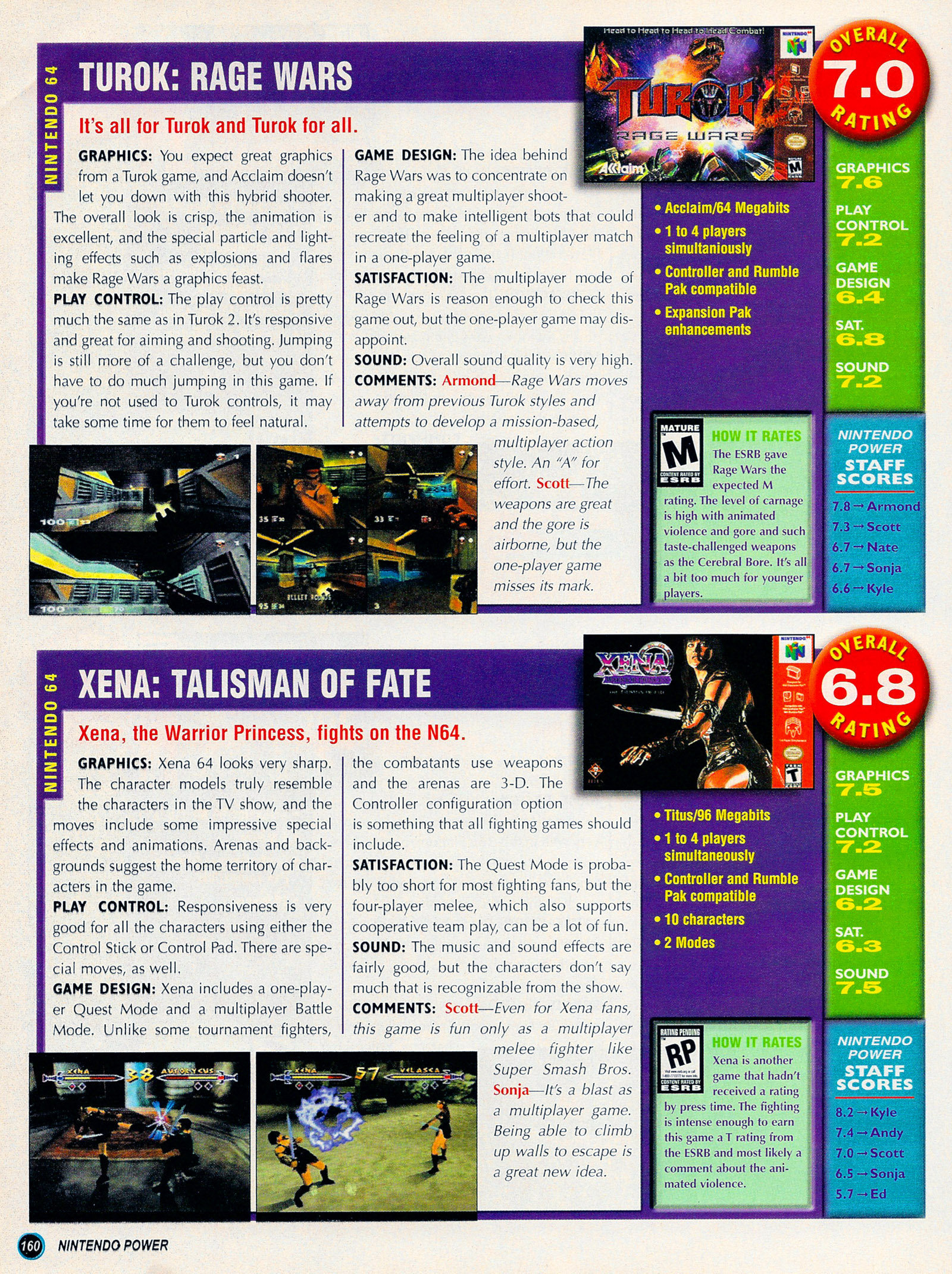 Nintendo Power #127 #127 - English 185