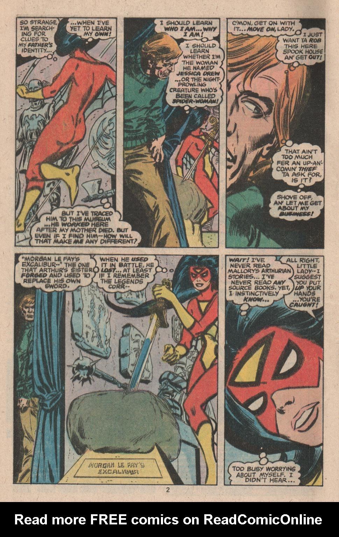 Spider-Woman (1978) #2 #49 - English 3