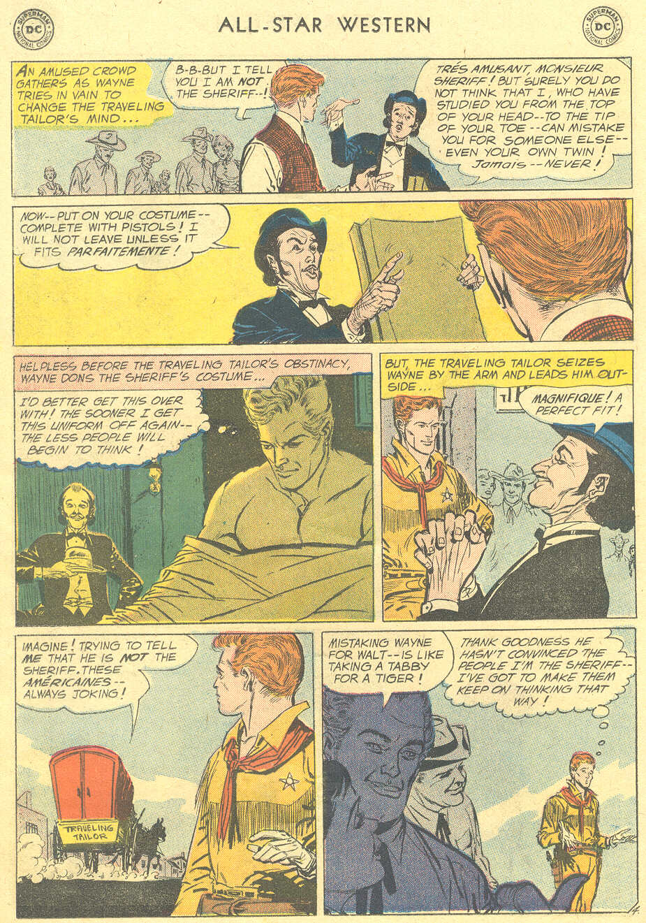 Read online All-Star Western (1951) comic -  Issue #105 - 6