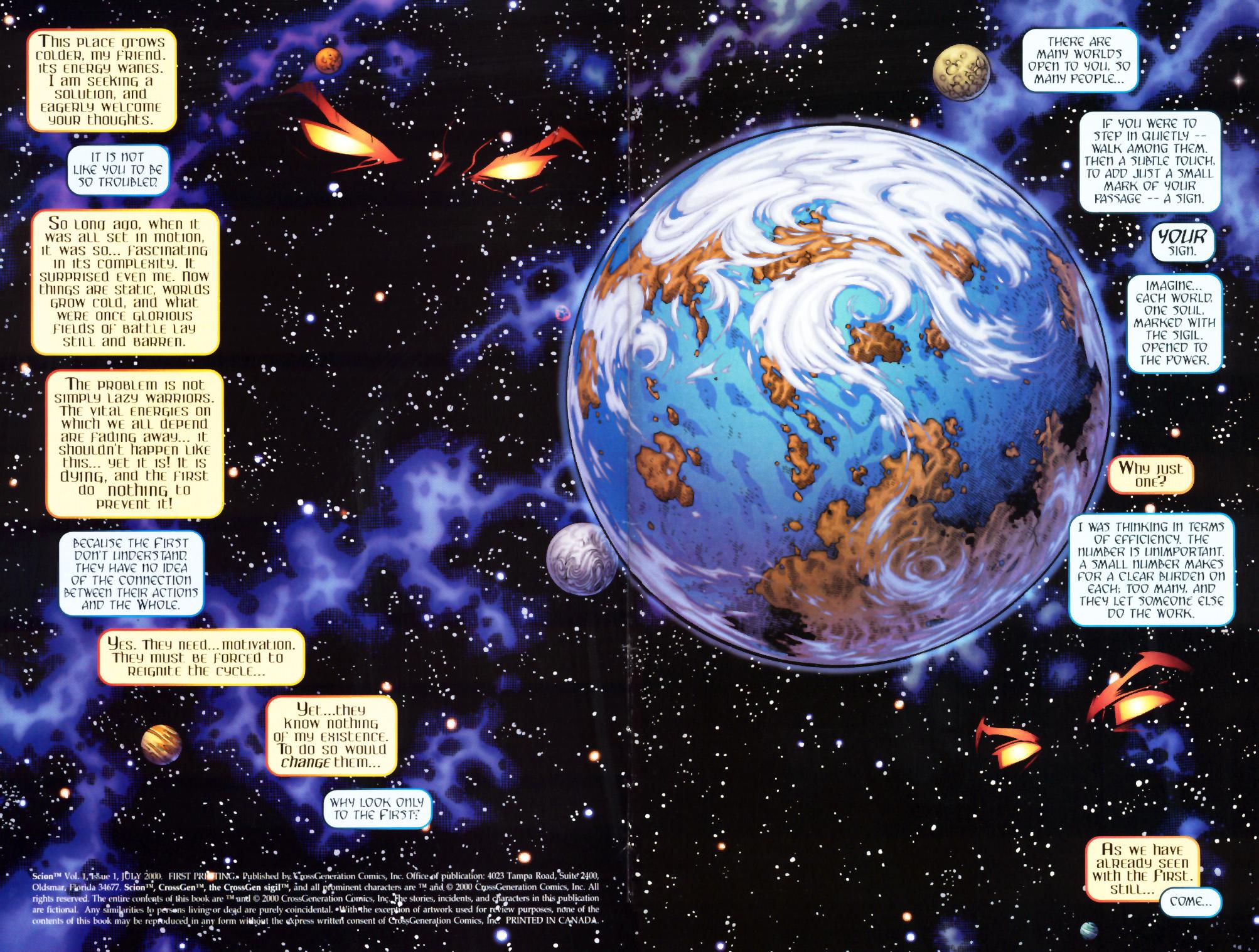 Read online Scion comic -  Issue #1 - 2
