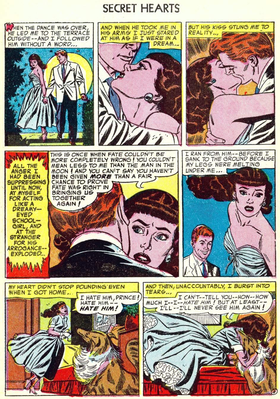 Read online Secret Hearts comic -  Issue #22 - 29