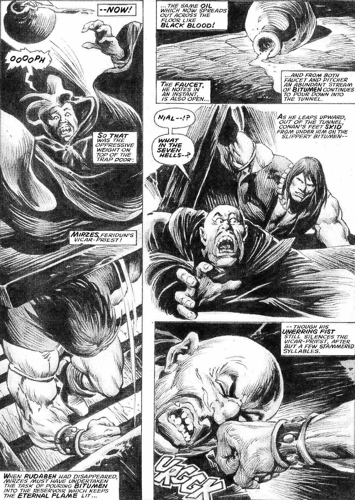 The Savage Sword Of Conan Issue #210 #211 - English 32