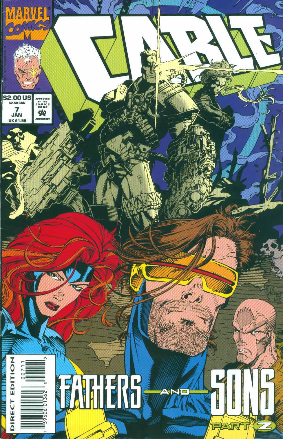 Cable (1993) 7 Page 1