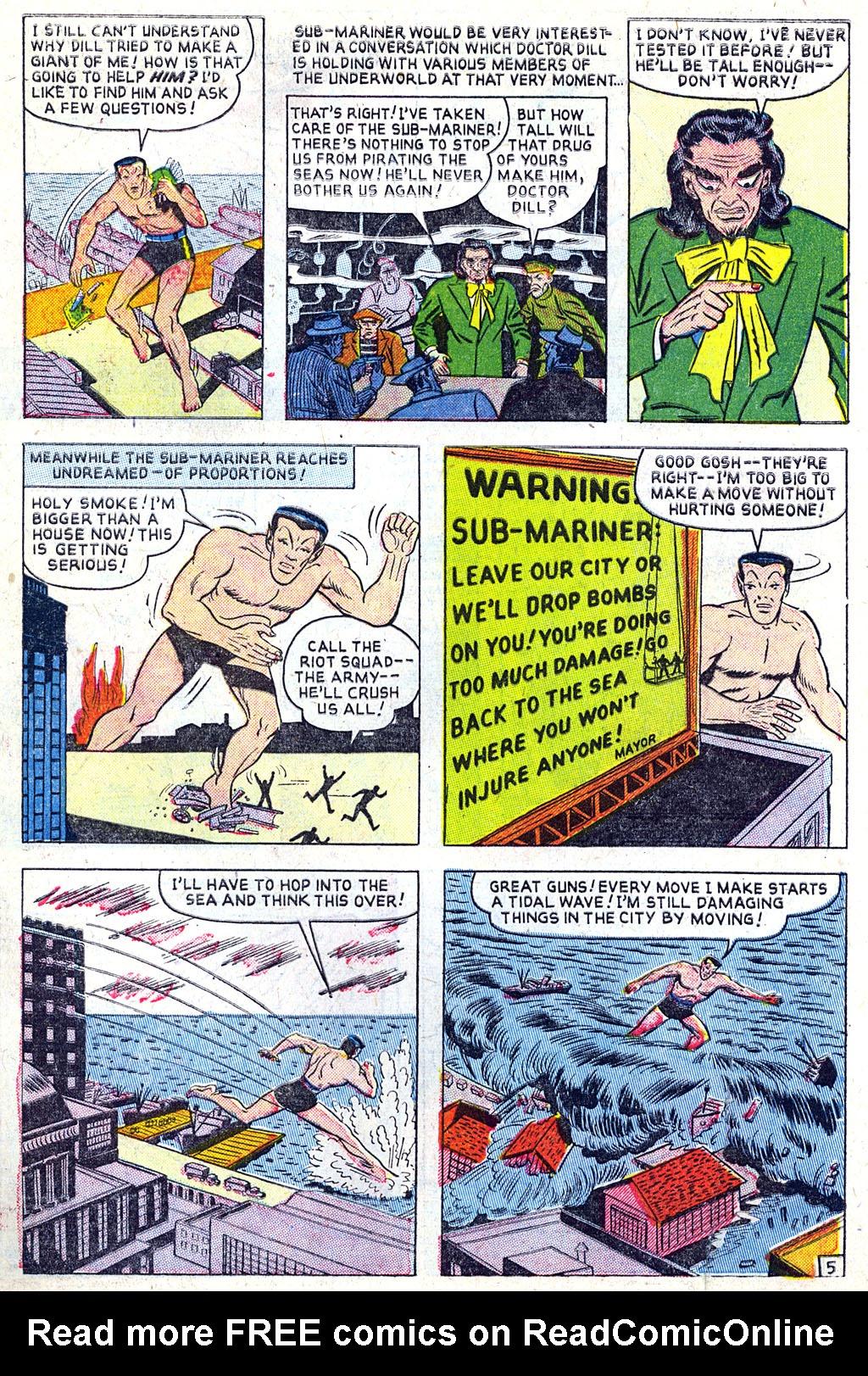 Sub-Mariner Comics #31 #31 - English 6