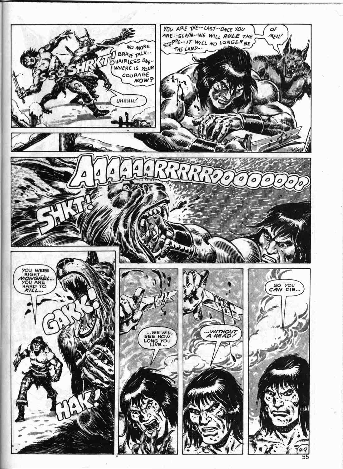 The Savage Sword Of Conan Issue #133 #134 - English 54