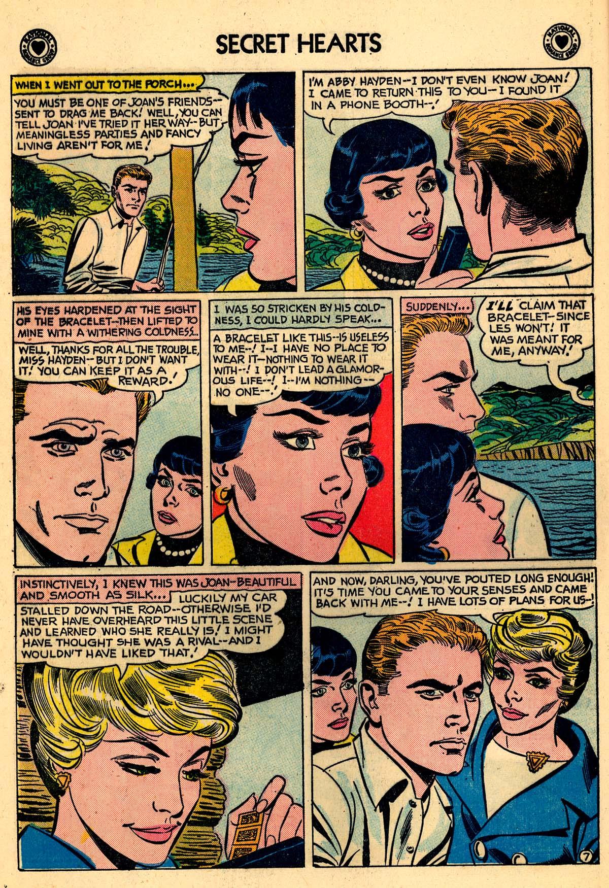 Read online Secret Hearts comic -  Issue #59 - 16