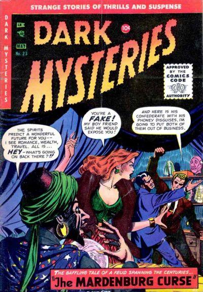 Dark Mysteries 23 Page 1