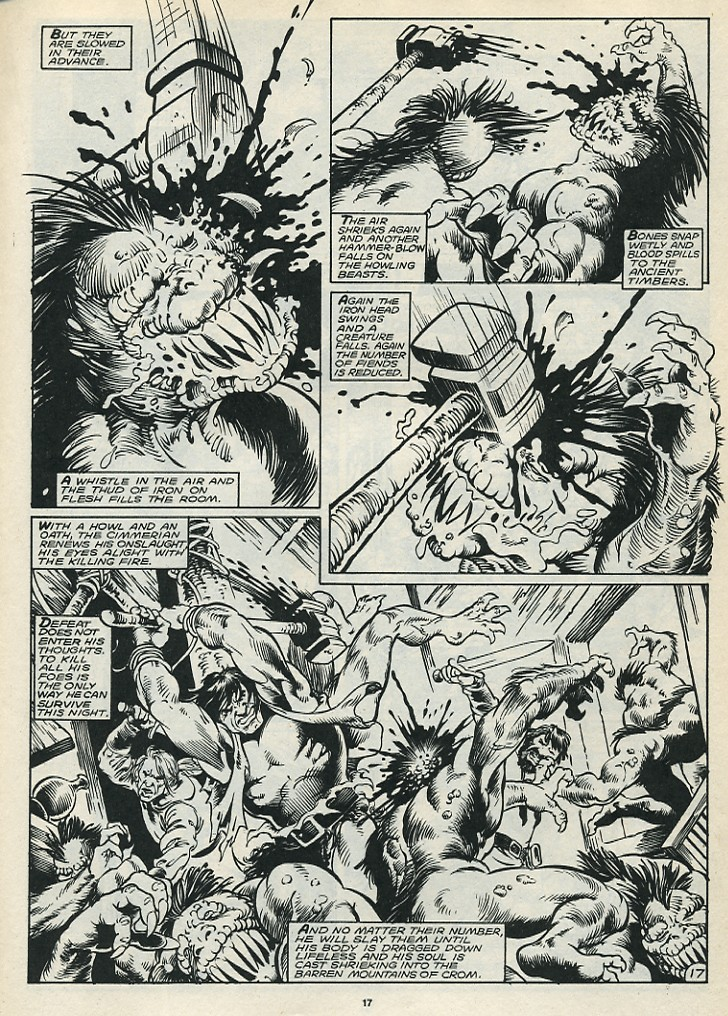 The Savage Sword Of Conan Issue #172 #173 - English 19