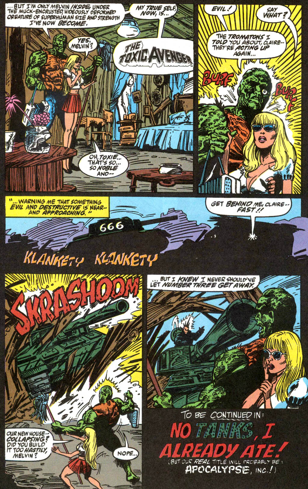Toxic Avenger #1 #11 - English 23
