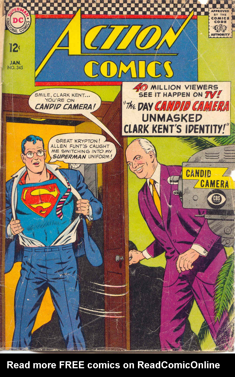 Action Comics (1938) 345 Page 1