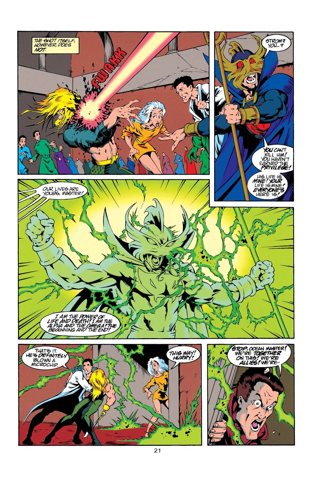 Aquaman (1994) Issue #20 #26 - English 21
