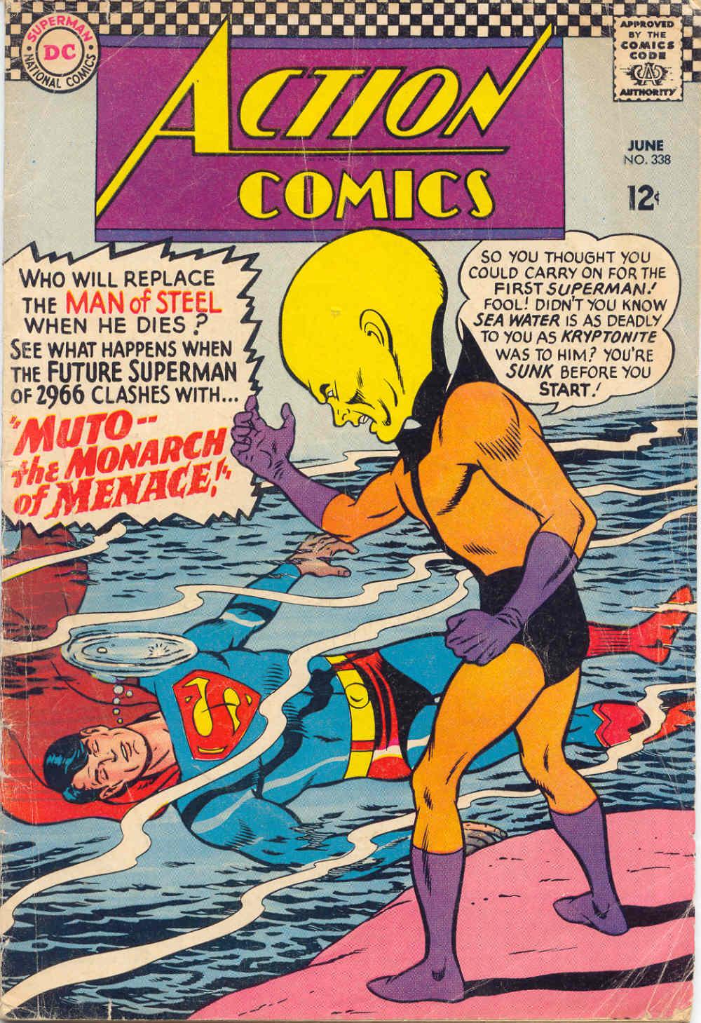 Action Comics (1938) 338 Page 1