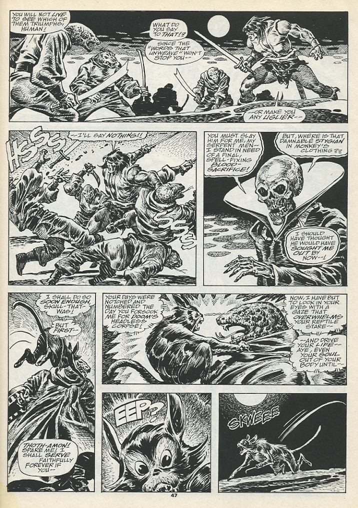 The Savage Sword Of Conan Issue #193 #194 - English 49