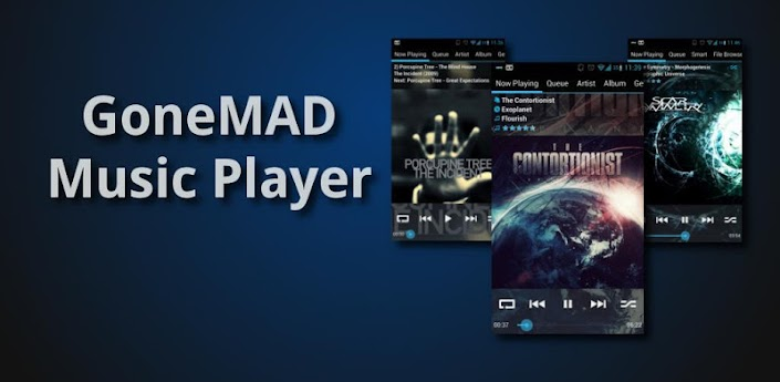 GoneMAD Music Player FULL Apk v1.4.5
