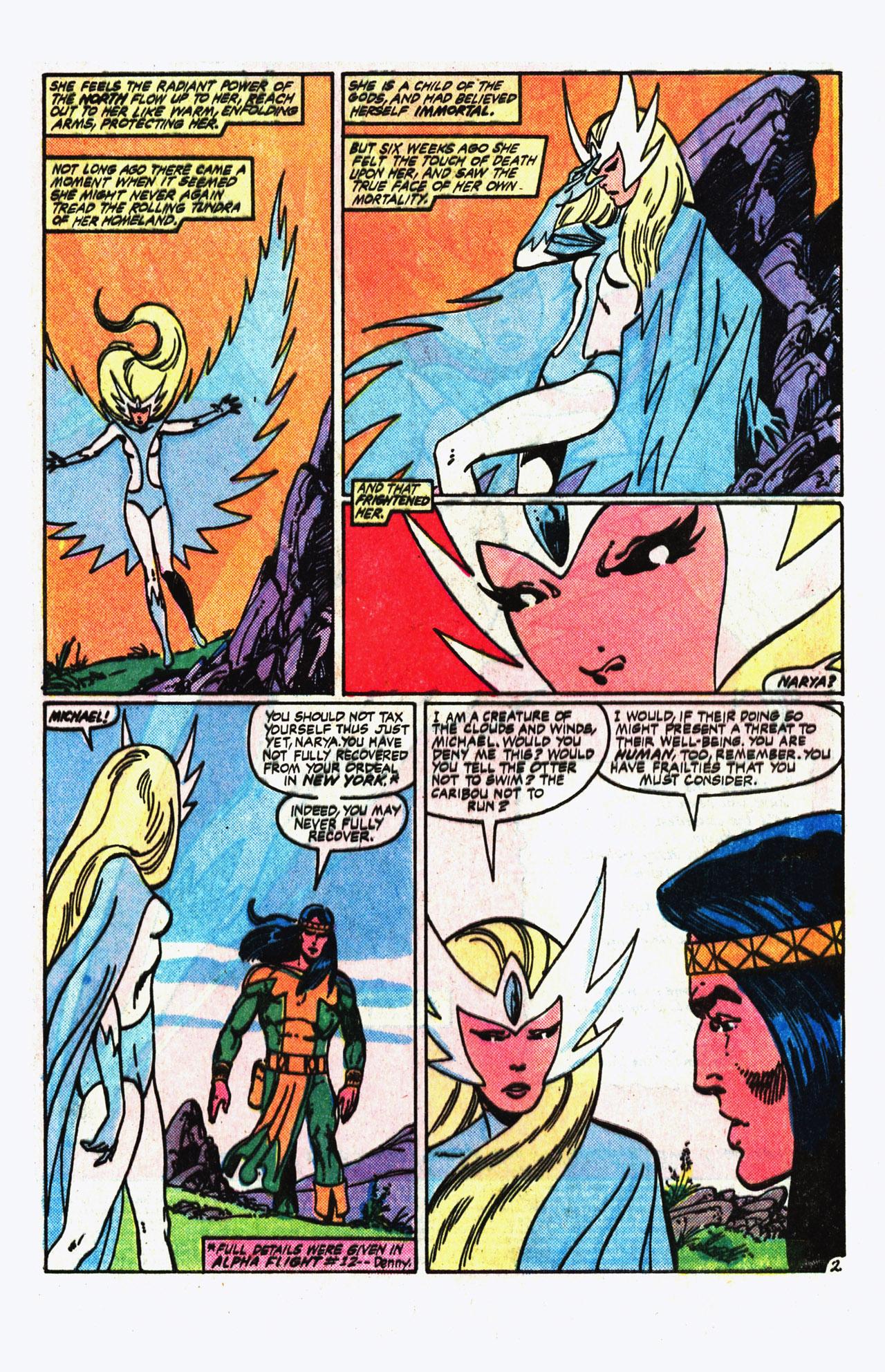 Alpha Flight (1983) 14 Page 2