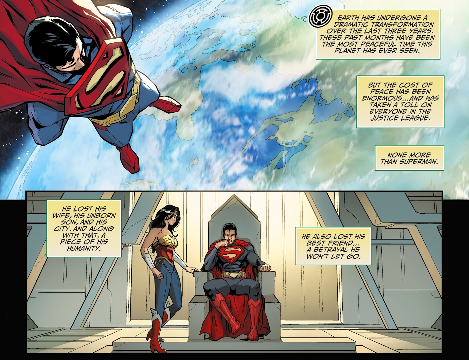 Injustice: Gods Among Us Year Four Issue #1 #2 - English 7