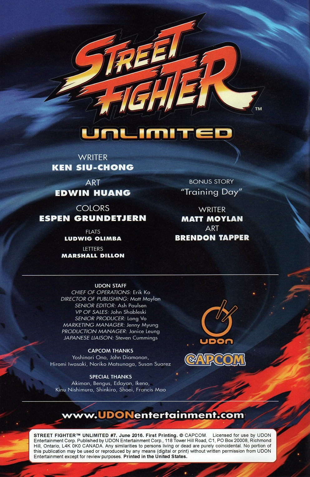 Street Fighter Unlimited Issue #7 #9 - English 2