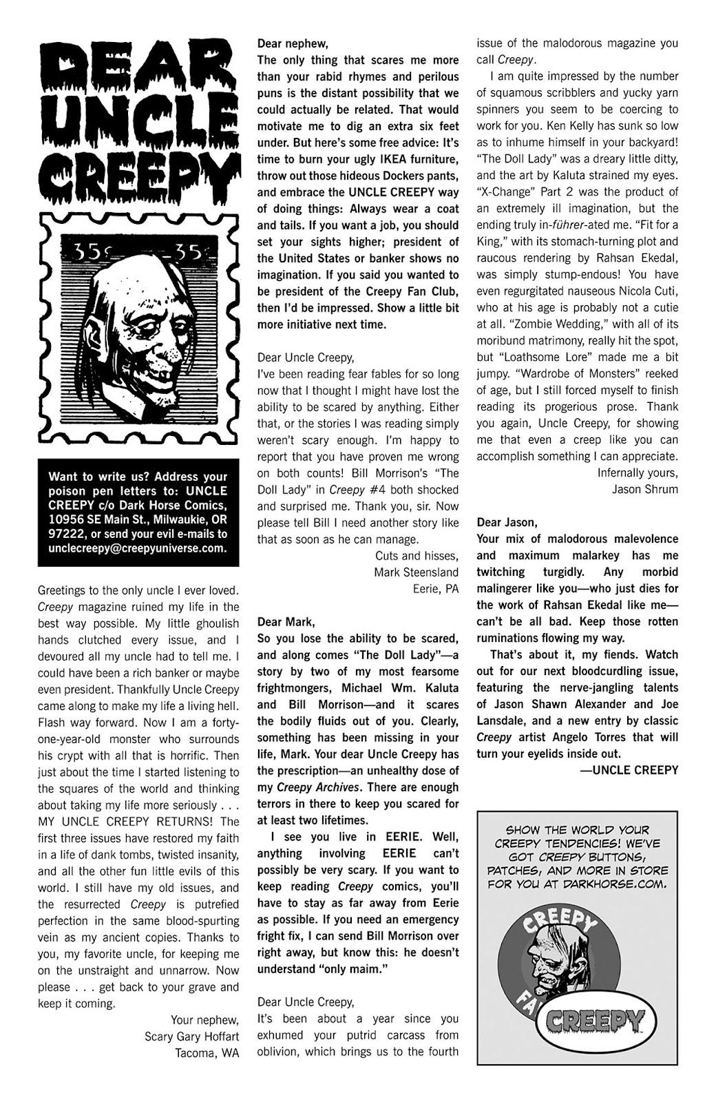 Creepy (2009) Issue #5 #5 - English 4