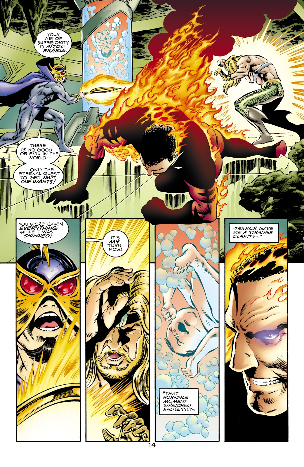 Aquaman (1994) Issue #68 #74 - English 15