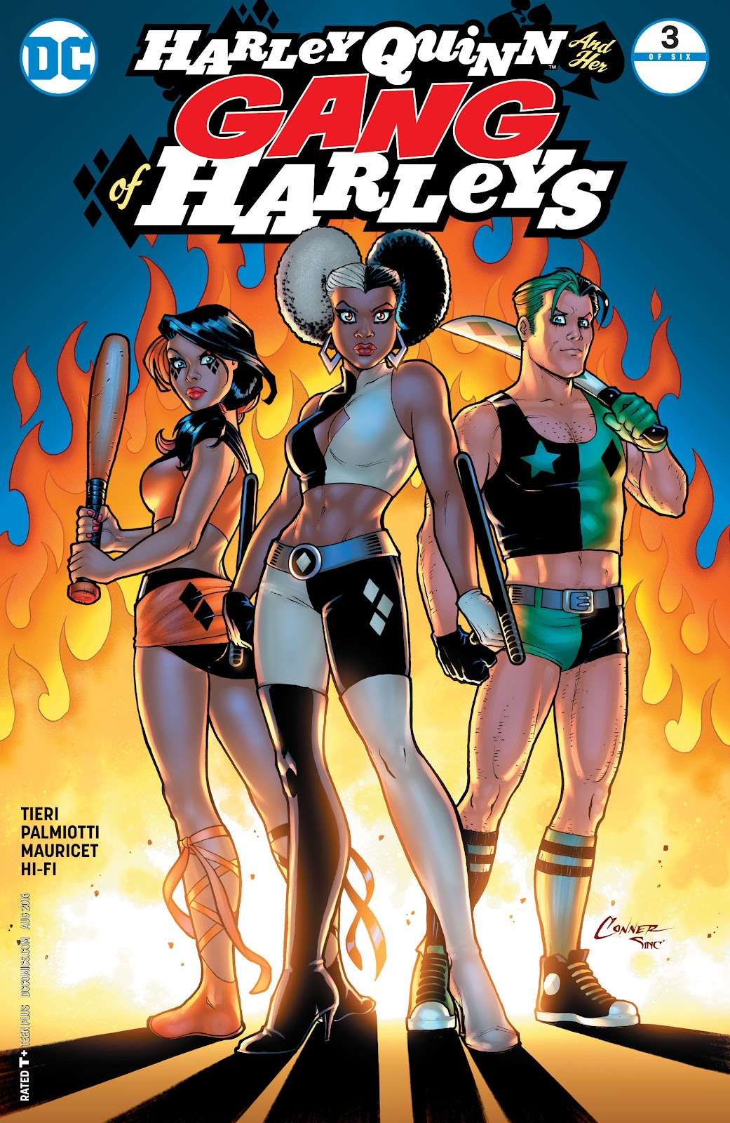 harley quinn and her gang of harleys issue 3 read full comics