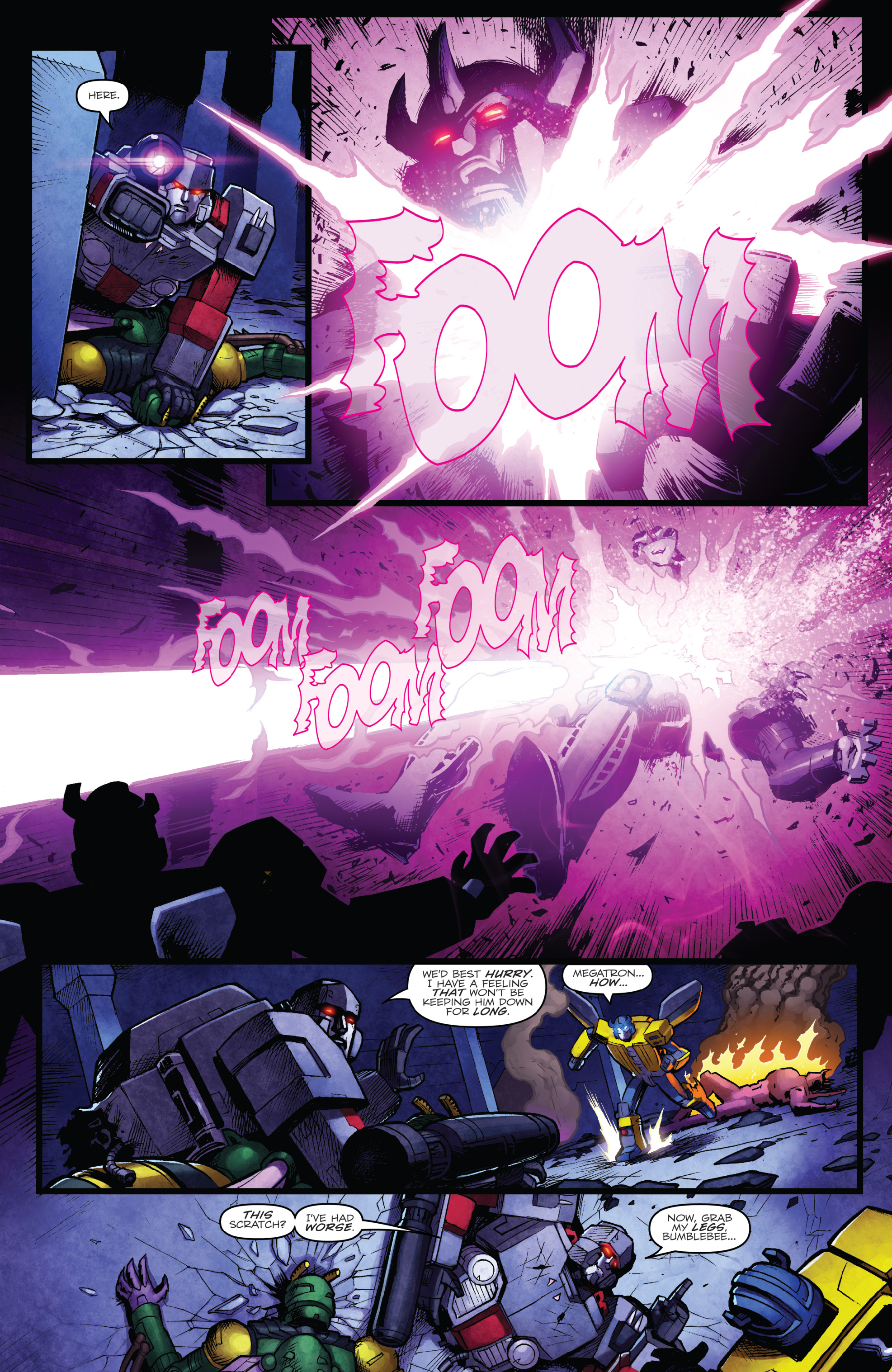 Read online The Transformers: Dark Cybertron Finale comic -  Issue # Full - 22