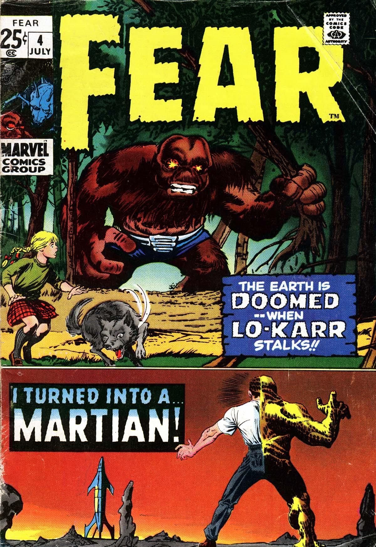 Fear 4 Page 1