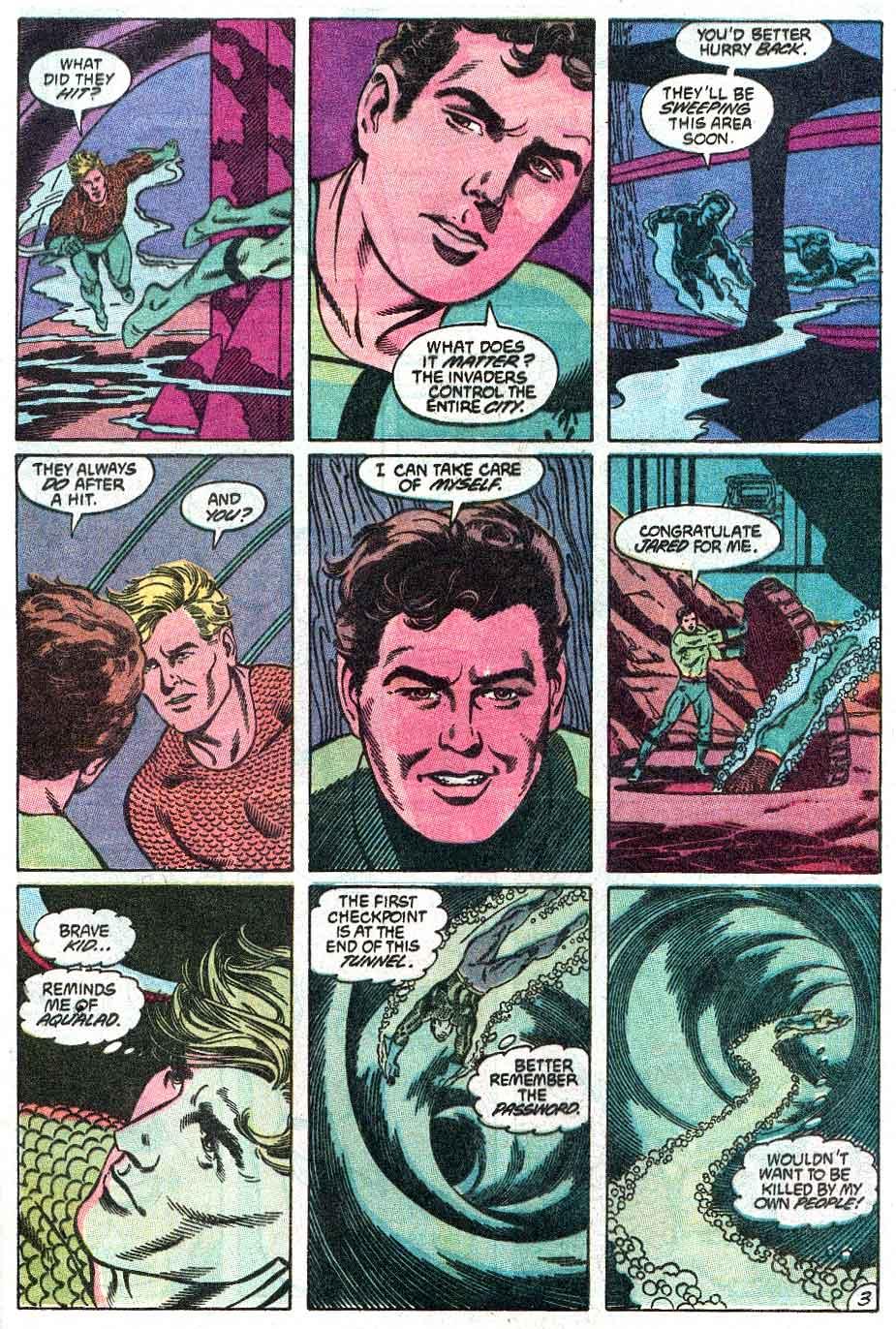 Aquaman (1989) Issue #2 #2 - English 4
