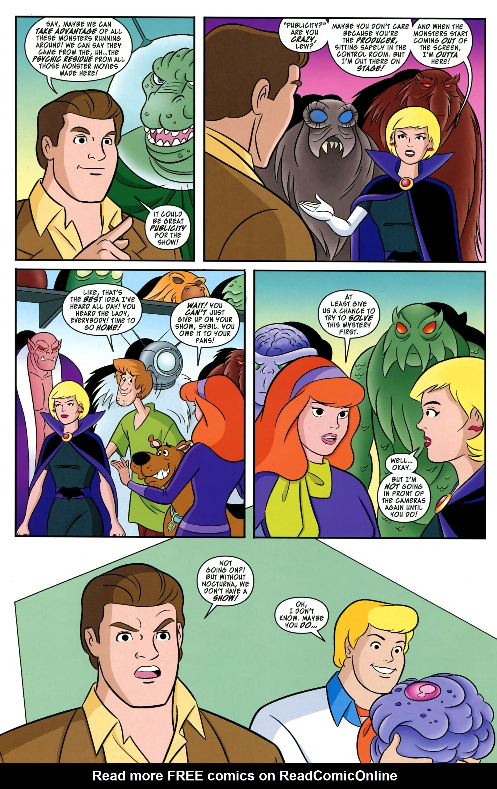 Read online Scooby-Doo: Where Are You? comic -  Issue #38 - 10