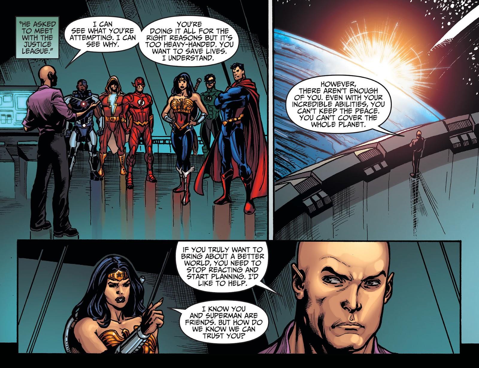 Injustice: Gods Among Us [I] Issue #20 #21 - English 21