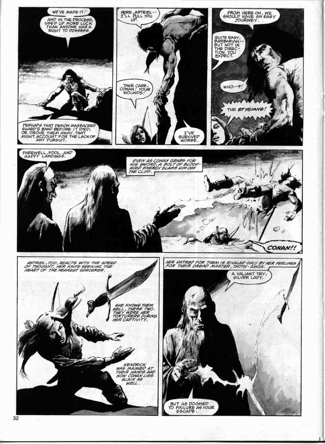 The Savage Sword Of Conan Issue #74 #75 - English 31