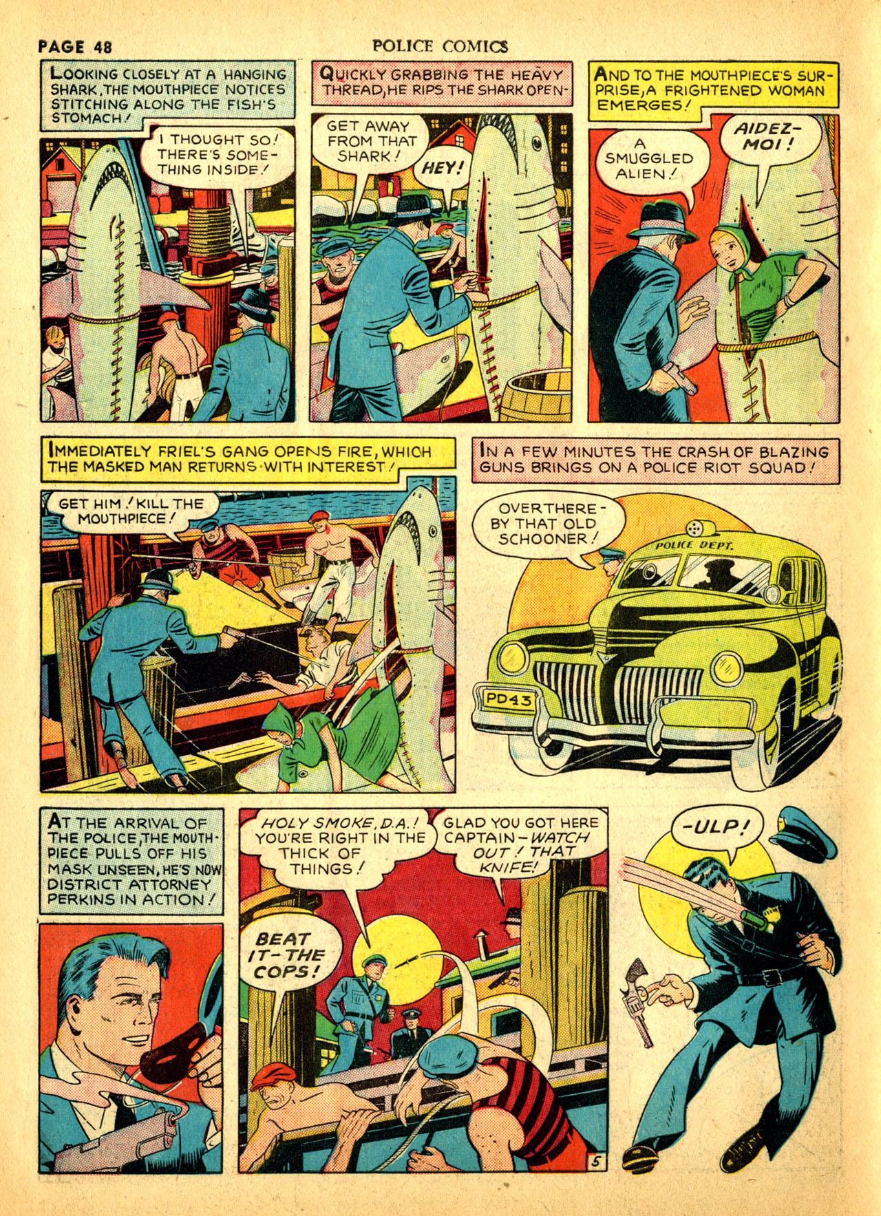 Police Comics #1 #127 - English 51