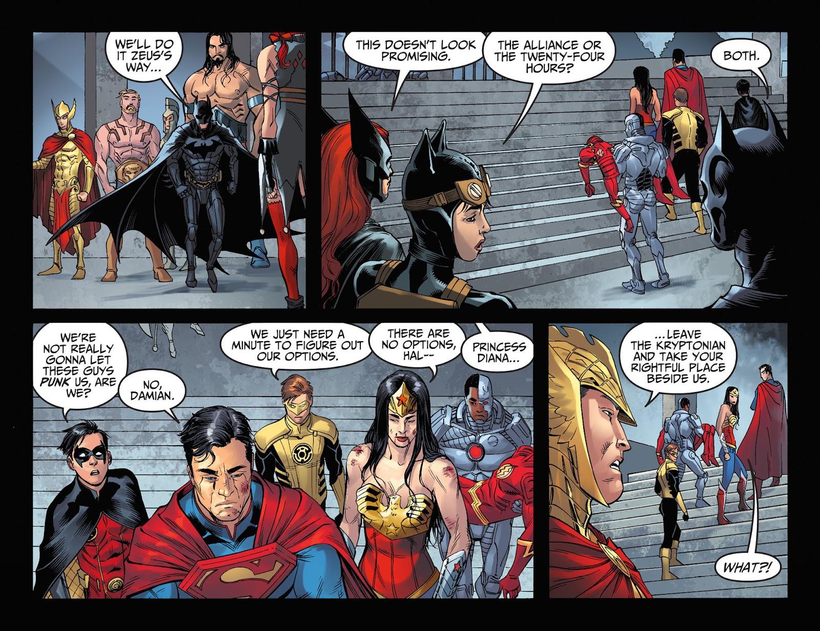 Injustice: Gods Among Us Year Four Issue #11 #12 - English 22