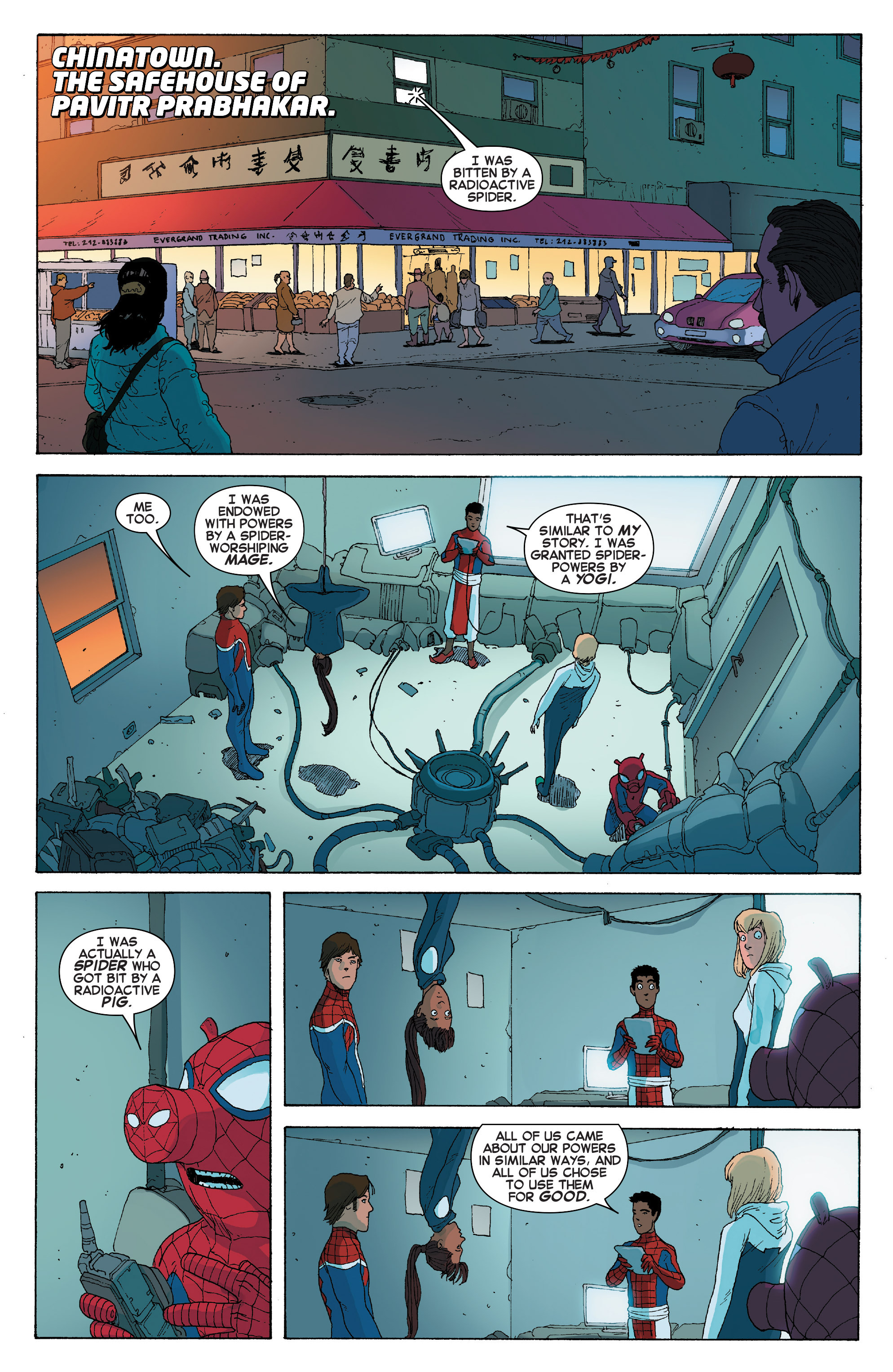 Read online Spider-Verse [II] comic -  Issue #2 - 10