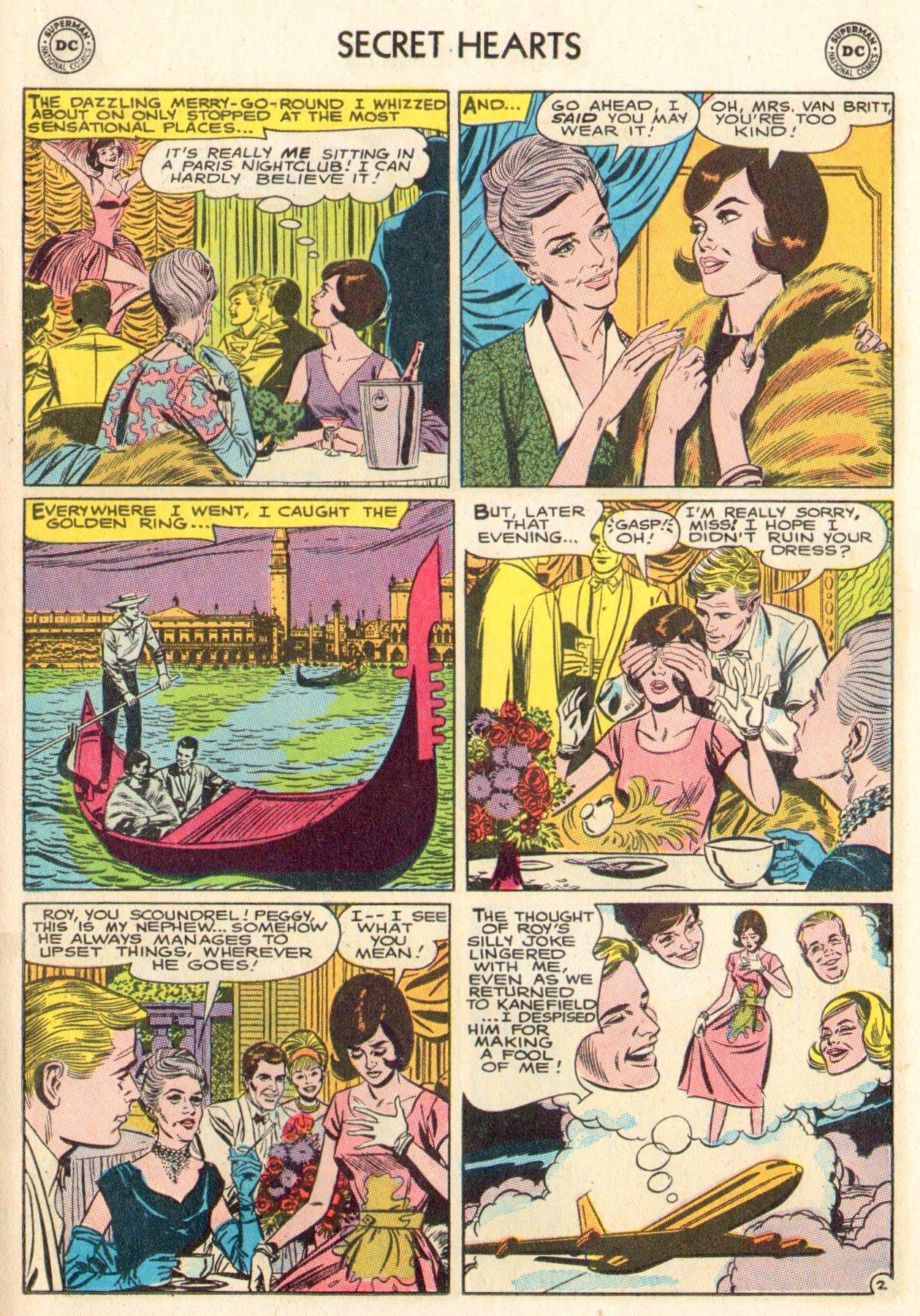 Read online Secret Hearts comic -  Issue #104 - 15