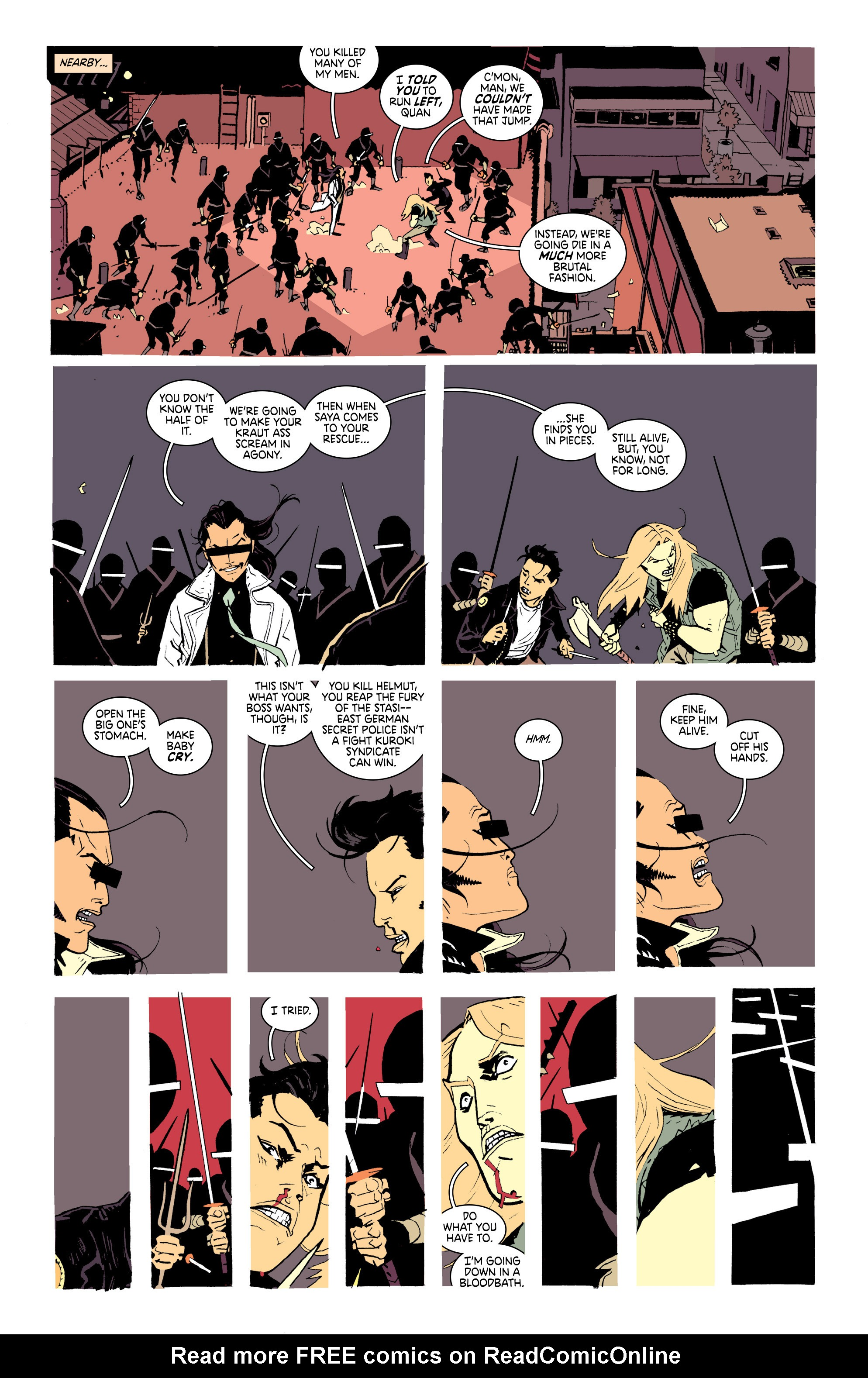 Read online Deadly Class comic -  Issue #25 - 17