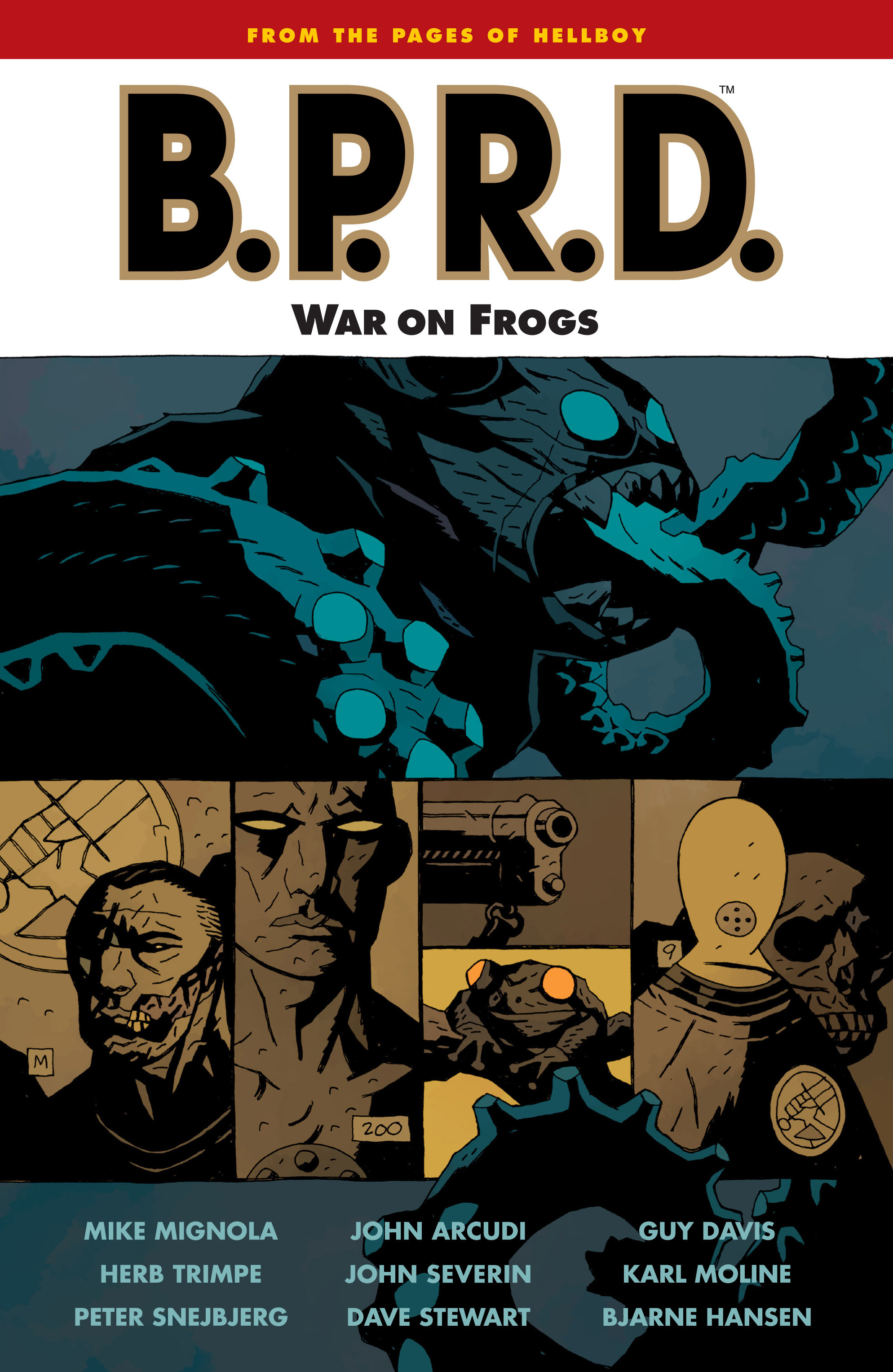B.P.R.D. (2003) TPB_12 Page 1