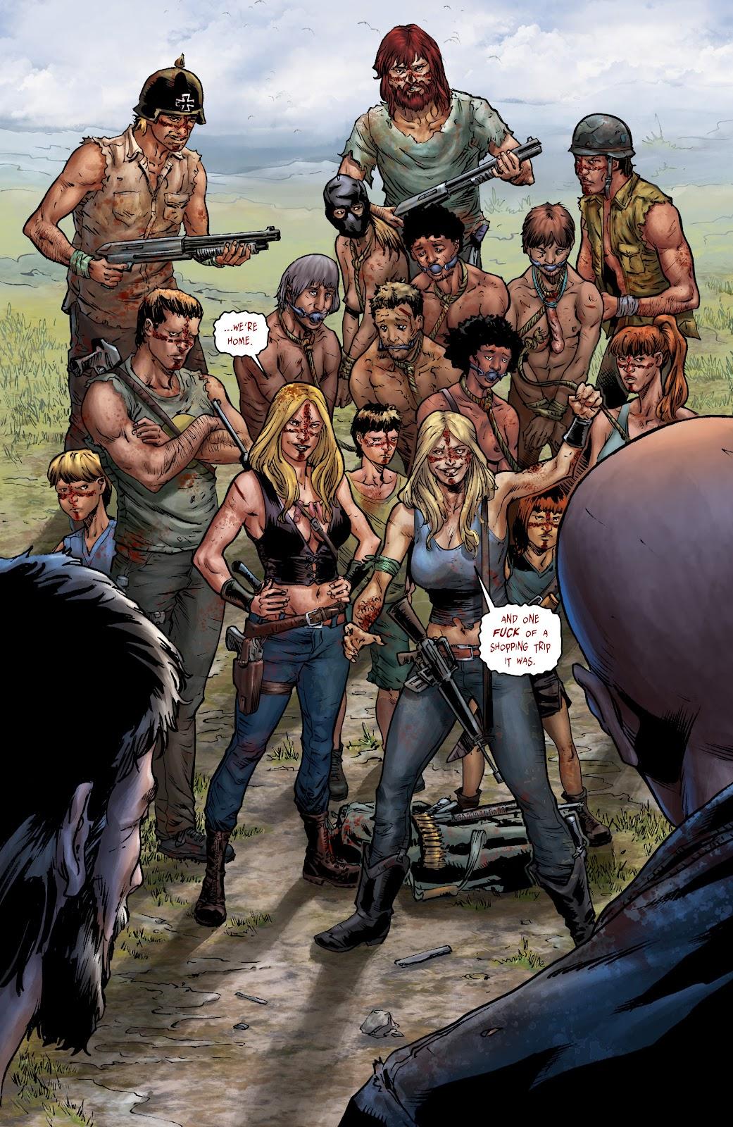 Crossed: Badlands Issue #100 #103 - English 6
