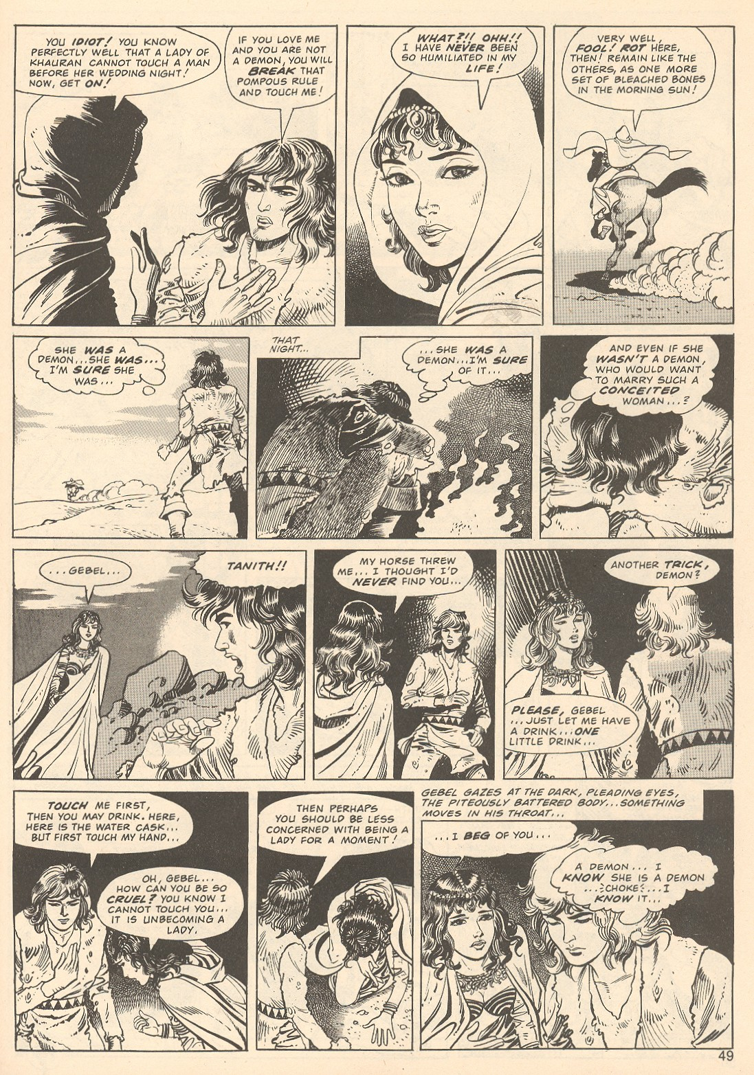 The Savage Sword Of Conan Issue #67 #68 - English 49