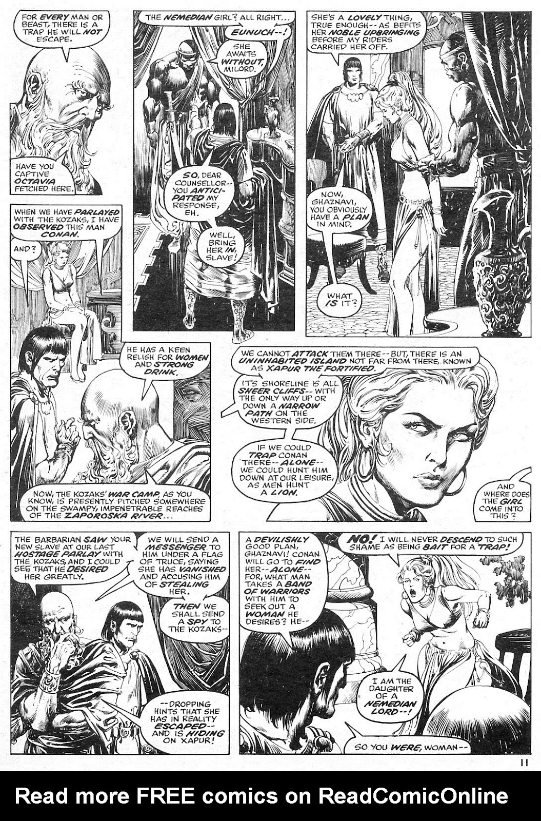 The Savage Sword Of Conan Issue #15 #16 - English 11