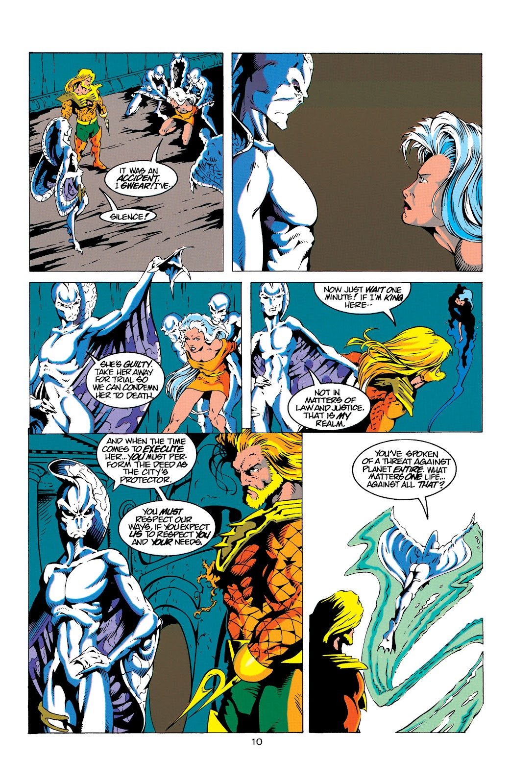 Aquaman (1994) Issue #18 #24 - English 10