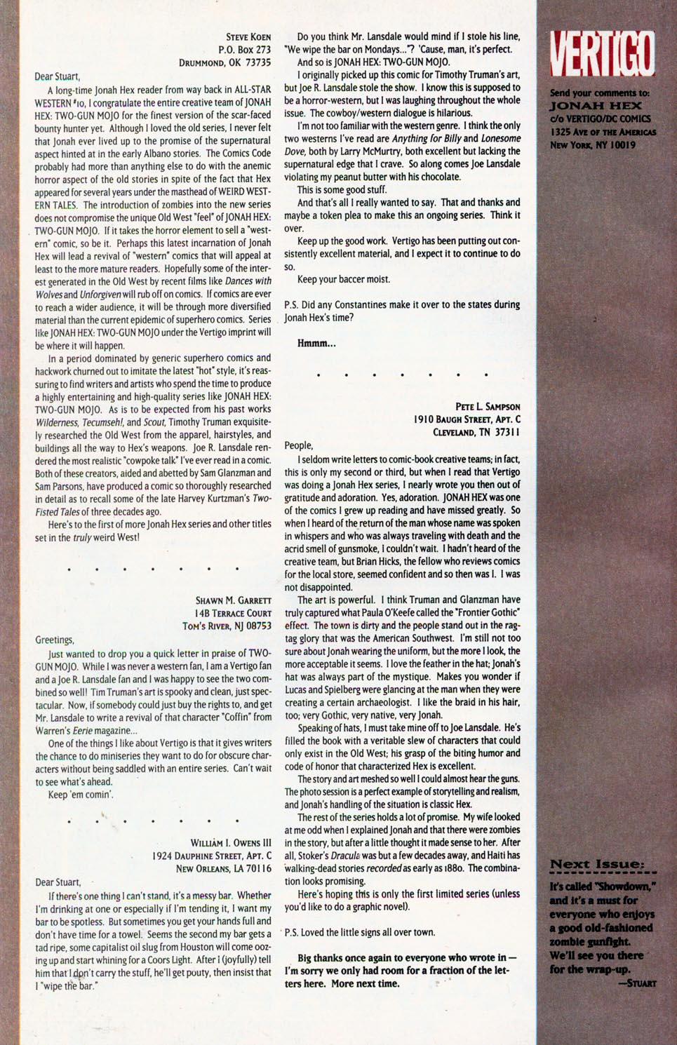 Jonah Hex: Two-Gun Mojo Issue #4 #4 - English 34